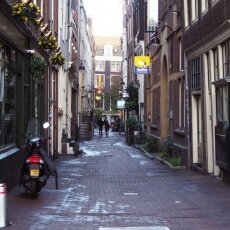 Early morning in the Red Light District 12