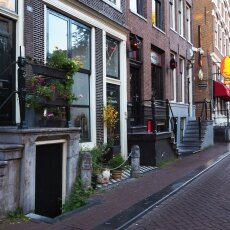 Early morning in the Red Light District 14