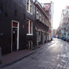Early morning in the Red Light District 16