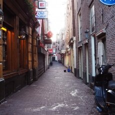 Early morning in the Red Light District 19