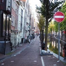 Early morning in the Red Light District 24