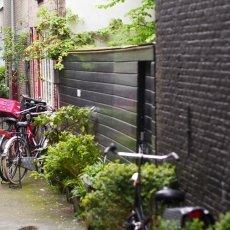 Little street in Haarlemmerbuurt