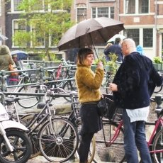 Rainy day in Amsterdam 02
