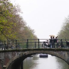 Typical Amsterdam view