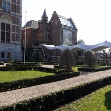 Museum courtyard