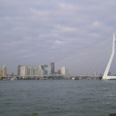 Erasmus Bridge from the other side