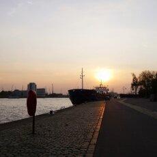 Sunset on Westerkade