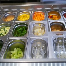 Some of the salad choices