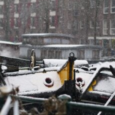 Snowing in Amsterdam 03