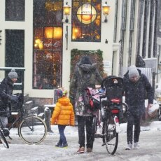 Snowing in Amsterdam 10