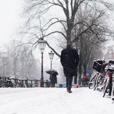Snowing in Amsterdam 11