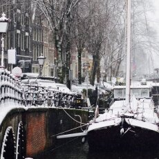 Snowing in Amsterdam 12