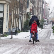 Snowing in Amsterdam 13