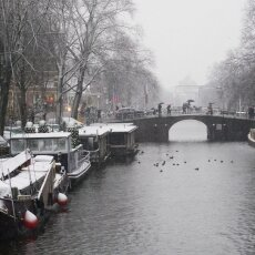 Snowing in Amsterdam 14