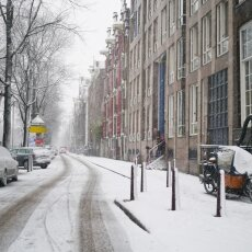 Snowing in Amsterdam 15