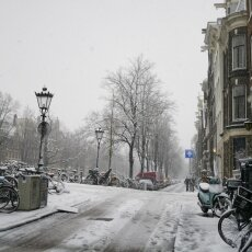 Snowing in Amsterdam 16