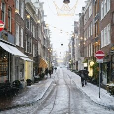 Snowing in Amsterdam 17