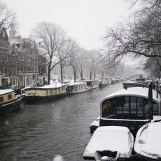 Snowing in Amsterdam 18