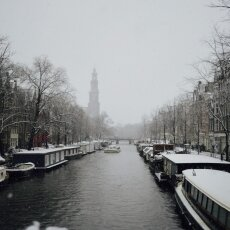 Snowing in Amsterdam 21