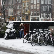 Snowing in Amsterdam 19