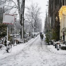 Snowing in Amsterdam 20