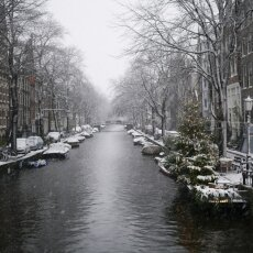 Snowing in Amsterdam 22