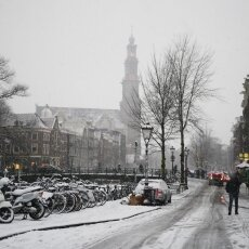 Snowing in Amsterdam 23