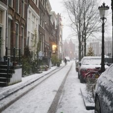 Snowing in Amsterdam 25