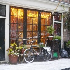 Snowing in Amsterdam 26