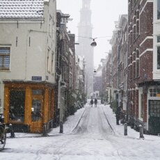 Snowing in Amsterdam 27