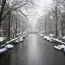 Snowing in Amsterdam 28
