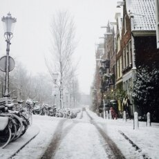 Snowing in Amsterdam 31