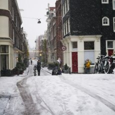 Snowing in Amsterdam 29