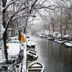 Snowing in Amsterdam 32