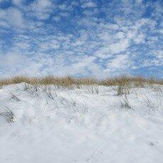 Snow on the beach 13