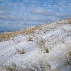 Snow on the beach 24