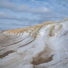 Snow on the beach 22