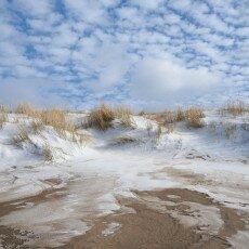 Snow on the beach 25