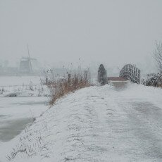 Snow and windmills 02
