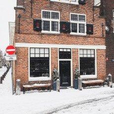 Snow storm in Alkmaar 07