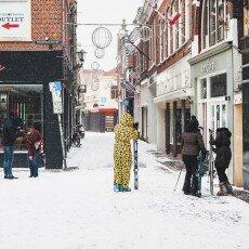 Snow storm in Alkmaar 03