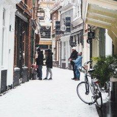 Snow storm in Alkmaar 02