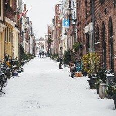 Snow storm in Alkmaar 10