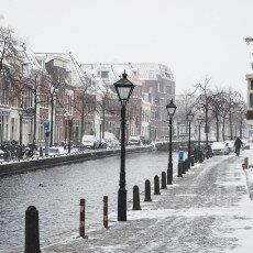 Snow storm in Alkmaar 22