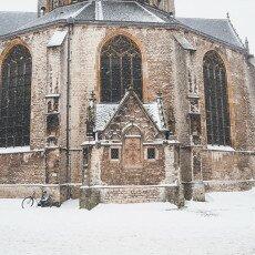 Snow storm in Alkmaar 26