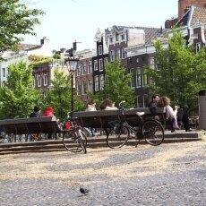 Spring snow in Amsterdam 02