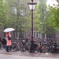 Spring snow in Amsterdam 13