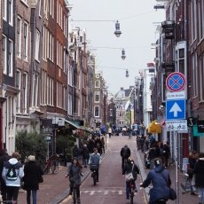 Spring snow in Amsterdam 10