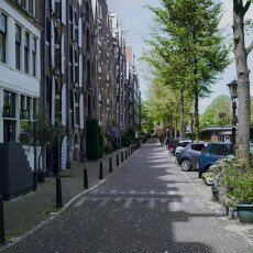 Amsterdam in May 19