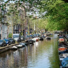Amsterdam in May 02